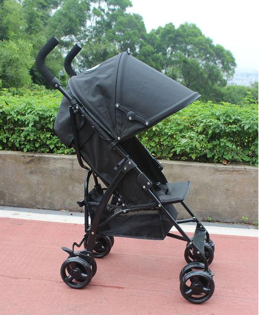 Pode sentar mentira TongBaoBao bebê carrinho de guarda-chuva dobrável portátil carrinho carro