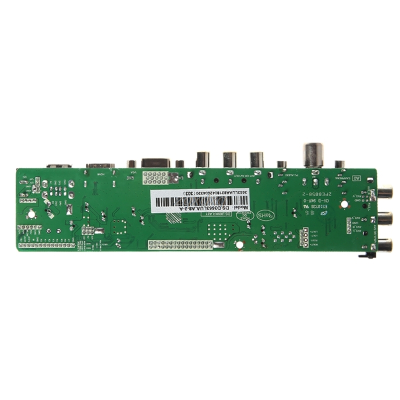 V56 V59 Universal LCD Driver Board DVB-T2 TV Board+7 Key Switch+IR+1 Lamp  Inverter+LVDS Cable Kit 3663 Oct30 Drop ship