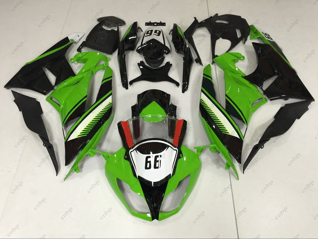 Fairings 636 Zx-6r 09 10 Abs Fairing for Kawasaki Zx6r 2012 2009 - 2012 Green Black Body Kits Ninja Zx-6r 2009 ветровое стекло на мотоцикл kawasaki zx 6r 636 09 10 11