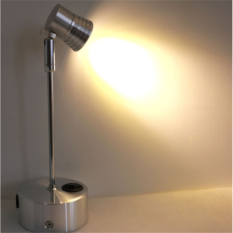 ФОТО 3 years warranty 1W/3W recharging led spot lamp ,wireless display spot lamp,switch model 360degree rotary wedding light