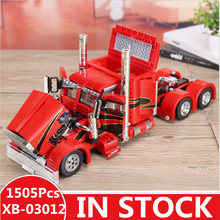 IN STOCK XingBao 03012 1505Pcs Genuine Technic MOC Series The Red Monster Set Children Educational