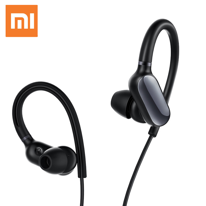Original Xiaomi Mi Sports Earphone Mini Wireless Bluetooth Headset Music Sport Earbud with Mic Waterproof Earphone for Phone