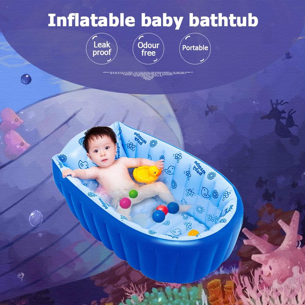 Sunshine Baby BathTub Kids Bathtub Portable Inflatable Cartoon ...
