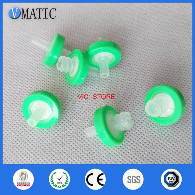 Free Shipping Quality 100Pcs 13mm 0.22um Plastic Syringe-Driven Filter Syringe Filter Organic Solution Filtration Membrane