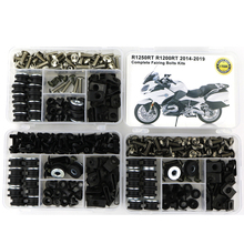 все цены на For BMW R1250RT R1200RT 2014 2015 2016 2017 2018 2019 Motorcycle Complete Full Fairing Bolts Kit Clips Nuts Screw Steel