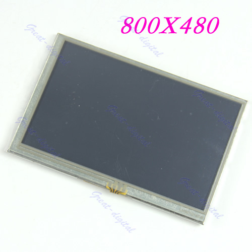 "J34 TFT LCD 1 PC New 5 ""Módulo de Display + Touch Panel Tela 800*480 Resolução"