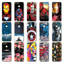 "Phone Case Fundas For Huawei Y6 Prime 2018 Cover Soft Case For Huawei Y6 Prime 2018 5.7"" Iron Man Novelty Back Covers"