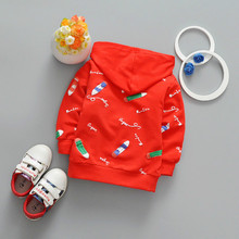 Children 's Costume Long-sleeved Baby Boys Girls Cotton Hoodies Sweater Toddler Clothes Fashion Cartoon Kids Tops