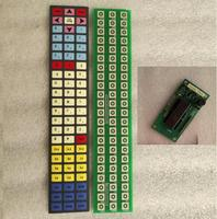 IP65 Waterproof Industrial keyboard, base on PCB, with metal dome keys, With ps/2 controller, provide custom design services