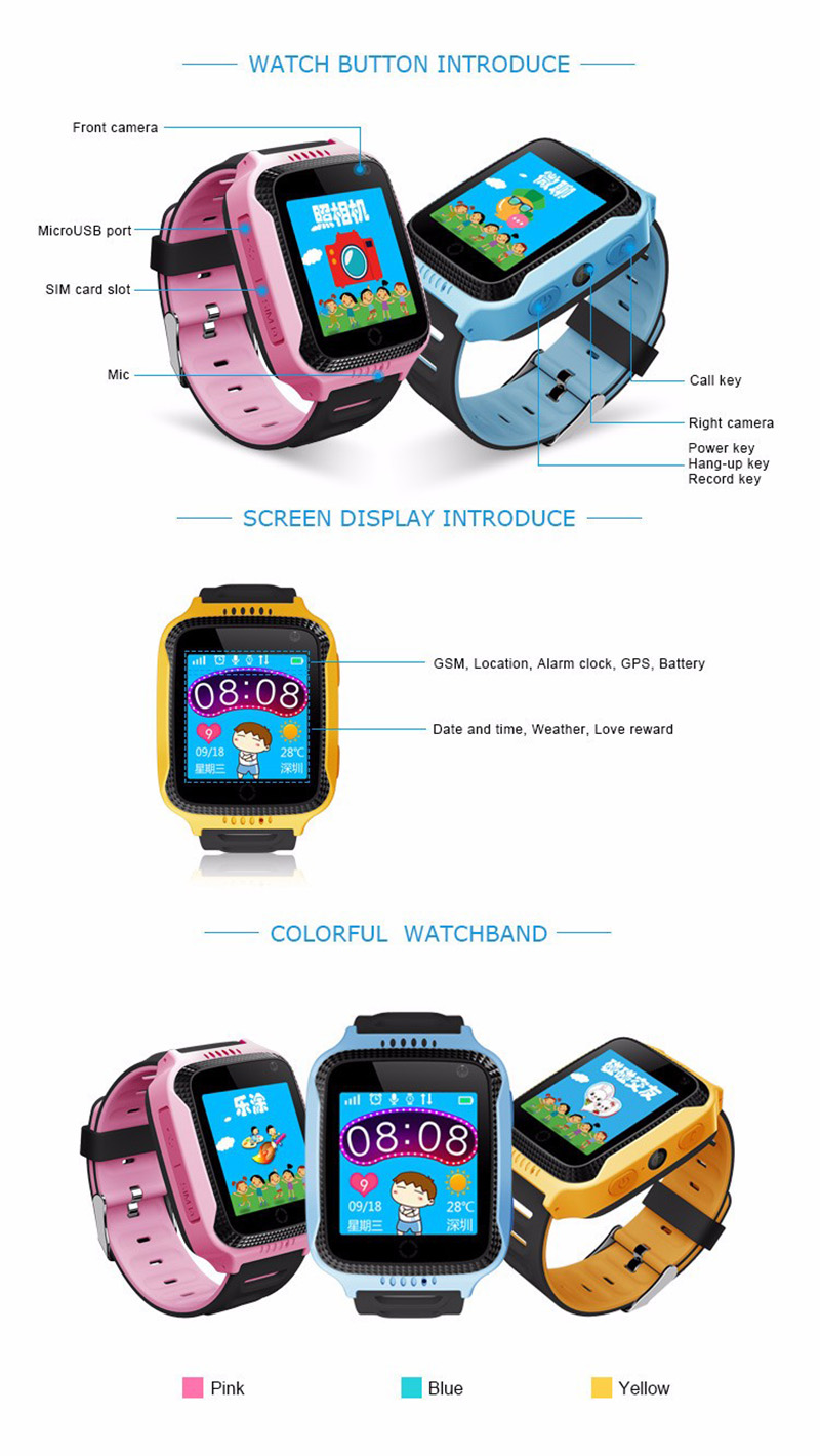 Benovel Q528 Y21 Children GPS Smart Watch With Flashlight Baby Watch 1.44inch SOS Call Location Device Tracker for Kid Safe watches (3)
