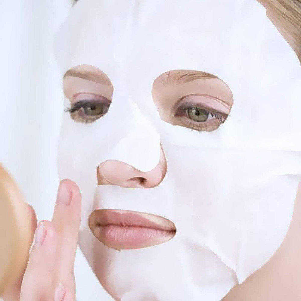 100 Pcs Disposable Facial Mask Pure Cotton Paper Facemask Sheet Ultra-thin DIY Cosmetic Face Skin Care Mask Beauty Tools