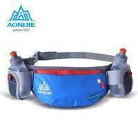AONIJIE Men Women Running Hydration Belts Bottle Holder Belt Fanny Pack Waist Packs With 2 170ml