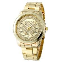 Montre Femme Новый Роскошный Дамы Женщины Девушка Металл Стальной браслет кристалл браслет Кварцевые Наручные Часы Часы В Качестве Подарка