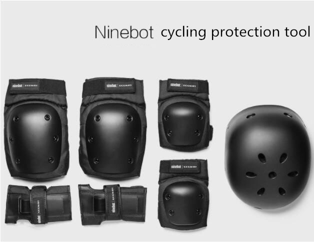Xiaomi ninebot riding helmet no 9 balance bike protector set adult and child unicycle black protector