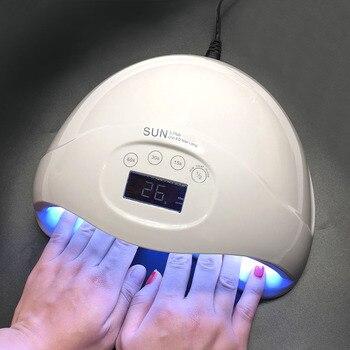Oakmoss 48W SUN5 Plus Professional LED UV Nail Lamp Led Nail Light Nail Dryer UV Lamp