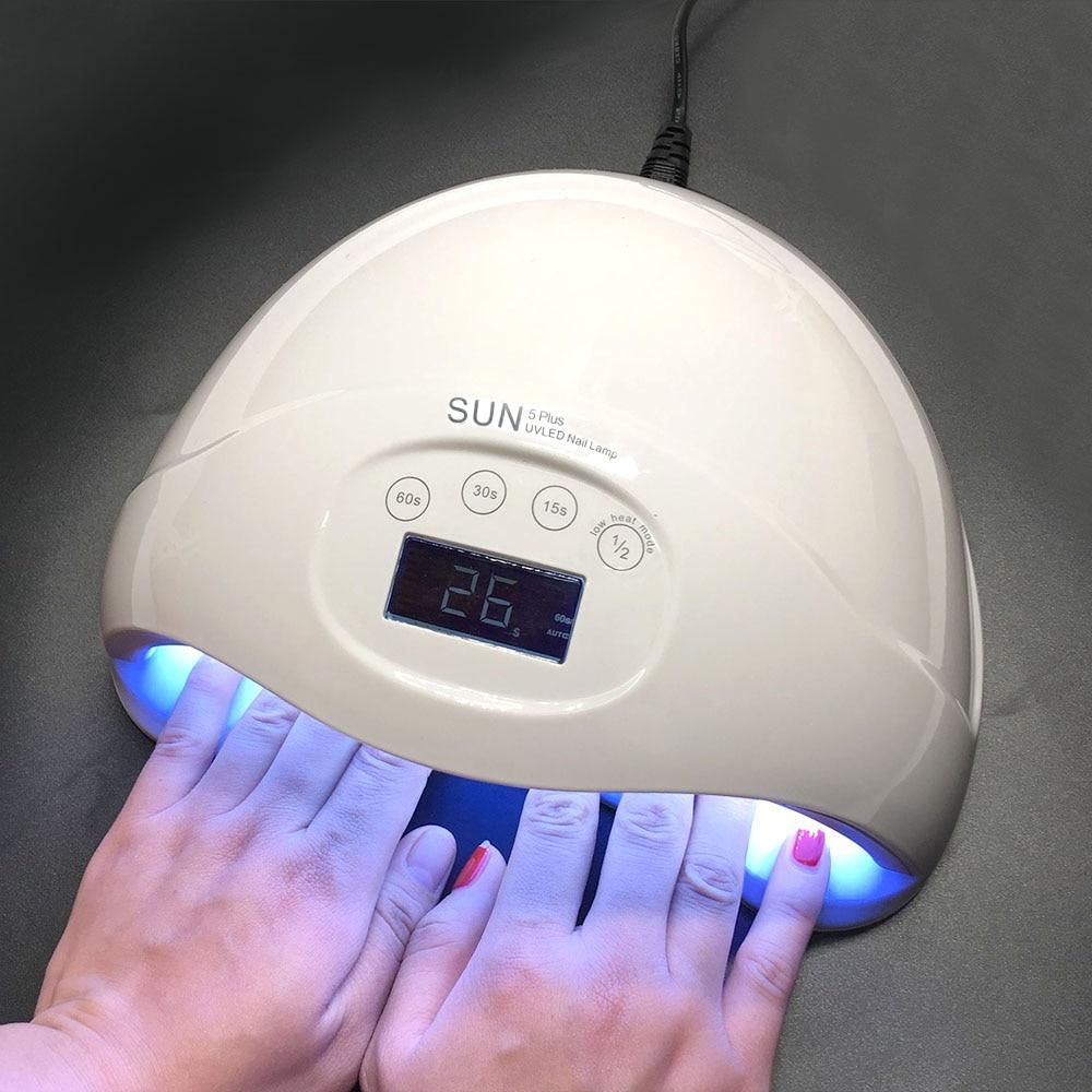 YingJia 48W SUN5 Plus Professional LED UV Nail Lamp Led Nail Light Nail Dryer UV Lamp