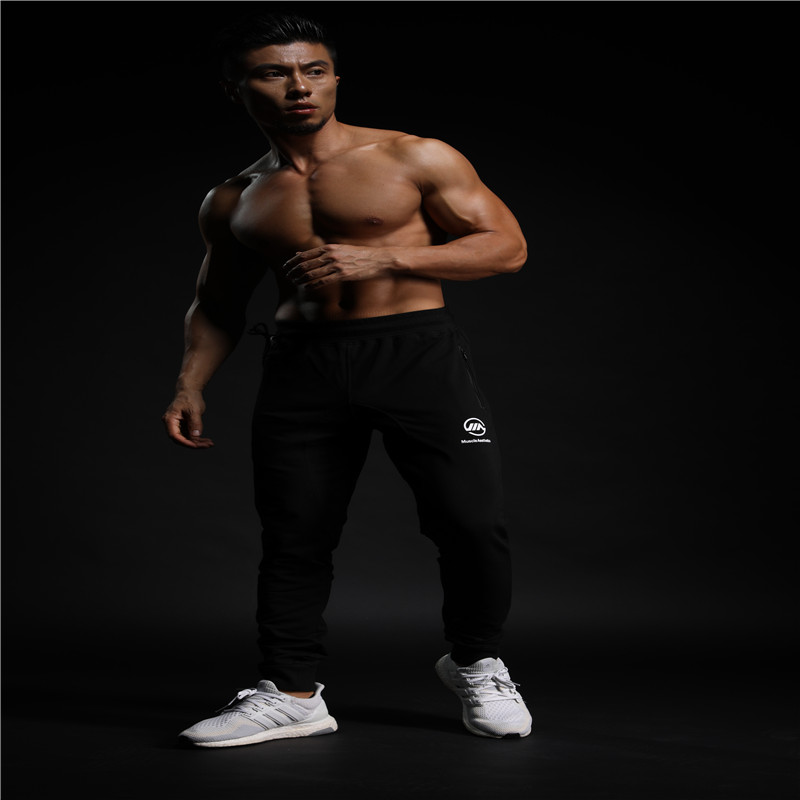 056730dfcd86 2019 Muscle Aesthetics Brothers MUSCLE AESTHTICS Sports Pants Men s ...