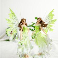 Flower Pixie Fairy Figurines, Doll House, Garden Ornament Decoration Crafts