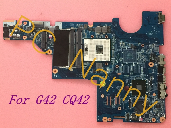 ФОТО For HP CQ42 G42 Intel System Motherboard DA0AX1MB6H1 Hm55 DDR3 Integrated without HDMI Tested