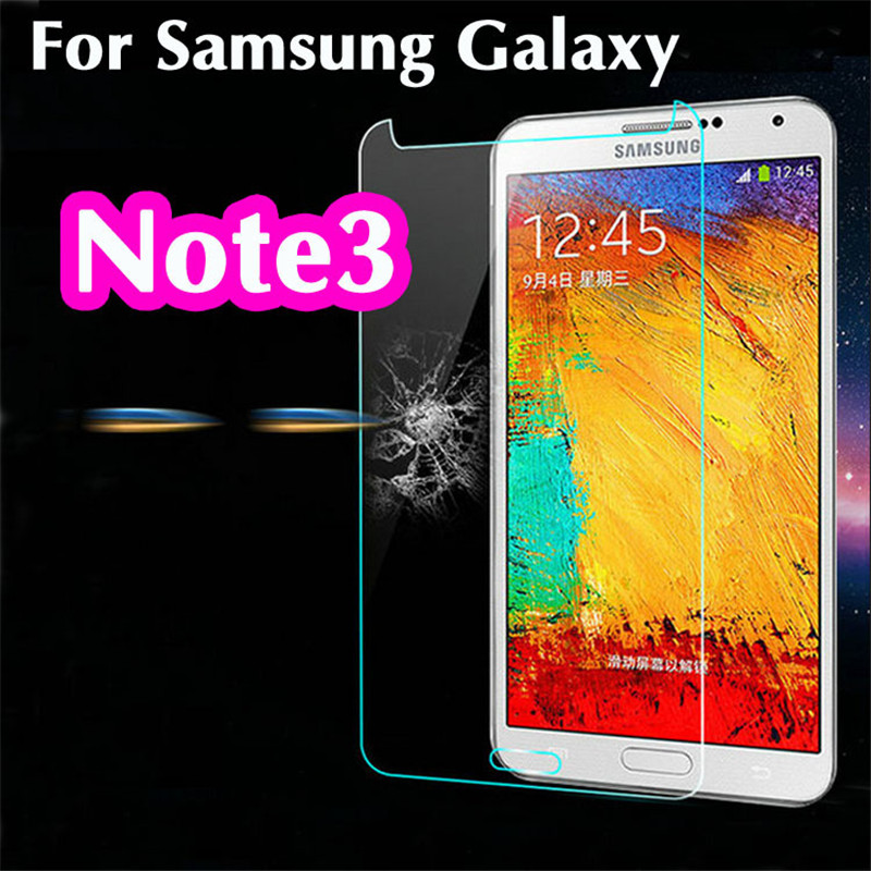 Tempered <font><b>Glass</b></font> For <font><b>Samsung</b></font> Galaxy NOTE <font><b>3</b></font> Note3 Neo Lite N9000 N9005 N7505 N7506 N7508 Screen Protector Protective Film Guard image