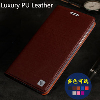 Luxury PU Leather Cover For ZTE Axon 7 Max Phone Case Cover Flip Case 7MAX Back
