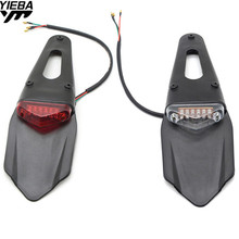 for KTM 125 200 250 300 350 400 450 500 530 EXC/EXC-R/F/XCR-W/XC-W RM 85 Motorcycle Fender LED Stop Rear Tail Light