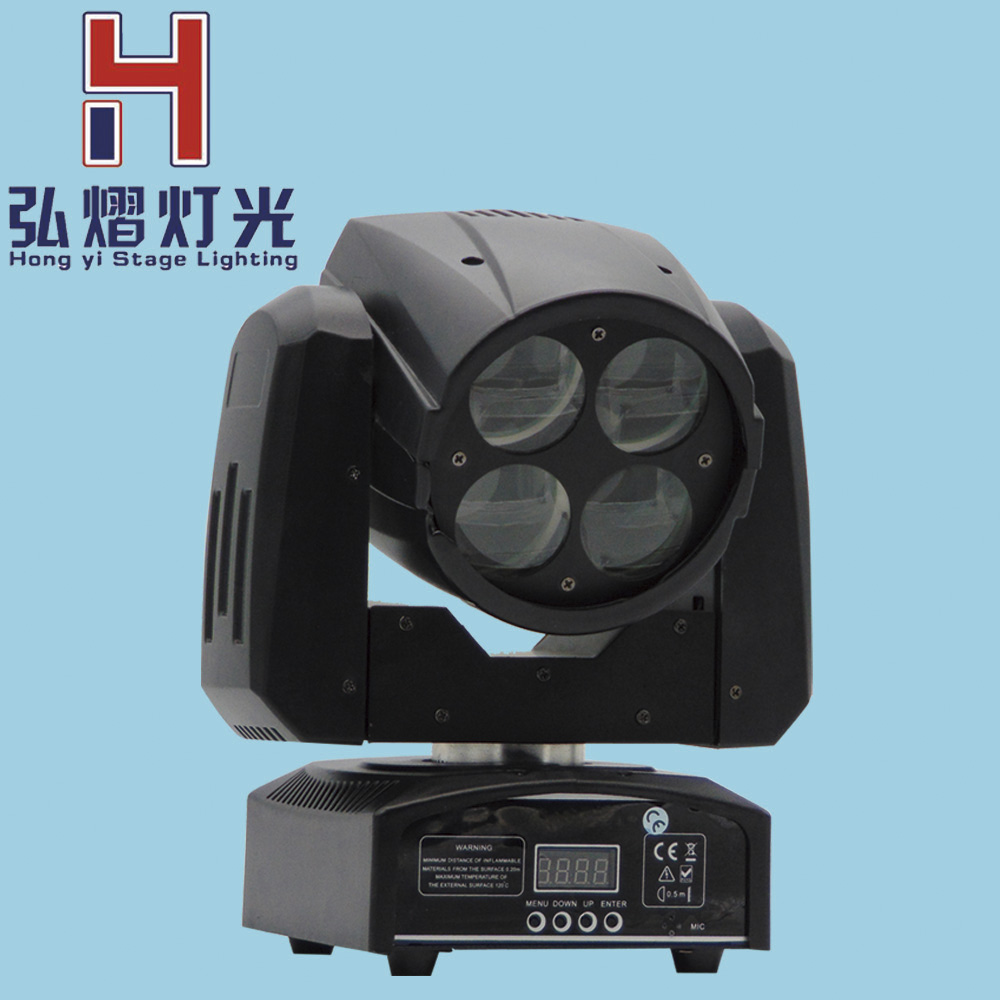 Stage Lighting Effect 4pcs Dj Equipment Mini Led 9x12w Matrix Beam Light Moving Head Rgbw 4in1 Professional Luces For Disco Show Ktv Party Stage Lights & Lighting