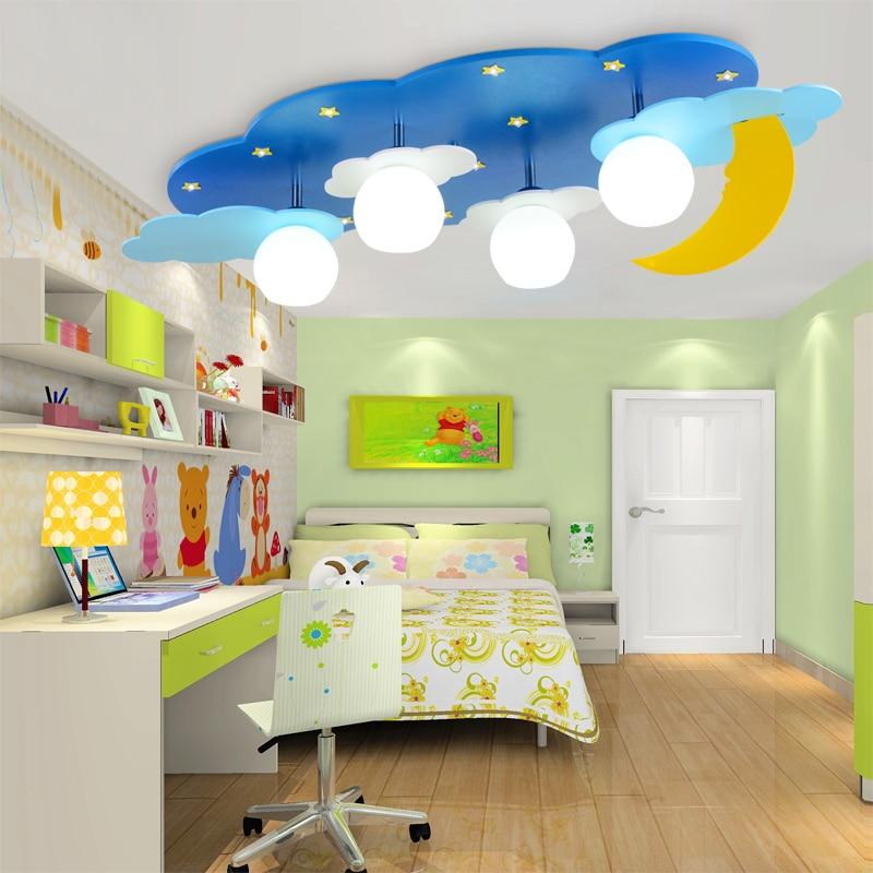 Art star moon and star light children bedroom lamp - Star ceiling lights for kids ...