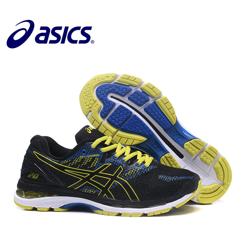 ASICS GEL Nimbus 20 Original Men's Sneakers Outdoor Running Stability Shoes Asics Man's Running Shoes Breathable Sports Shoes