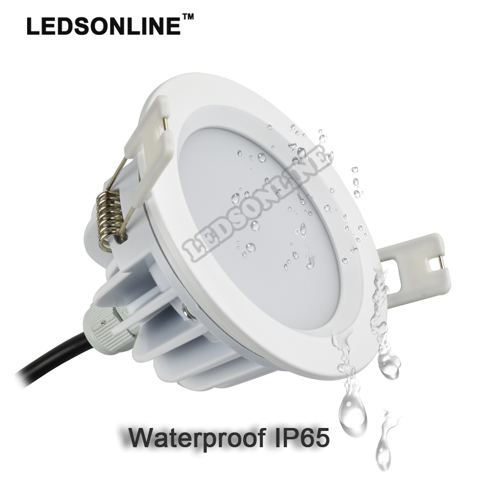 4 stks 5 w 7 w LED Downlight 3.5 inch, Open maat 80mm 3 inch AC - LED-Verlichting