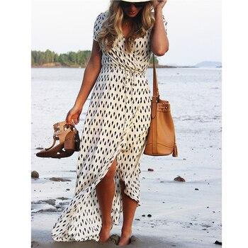 Beach Boho Bohemian people Dress