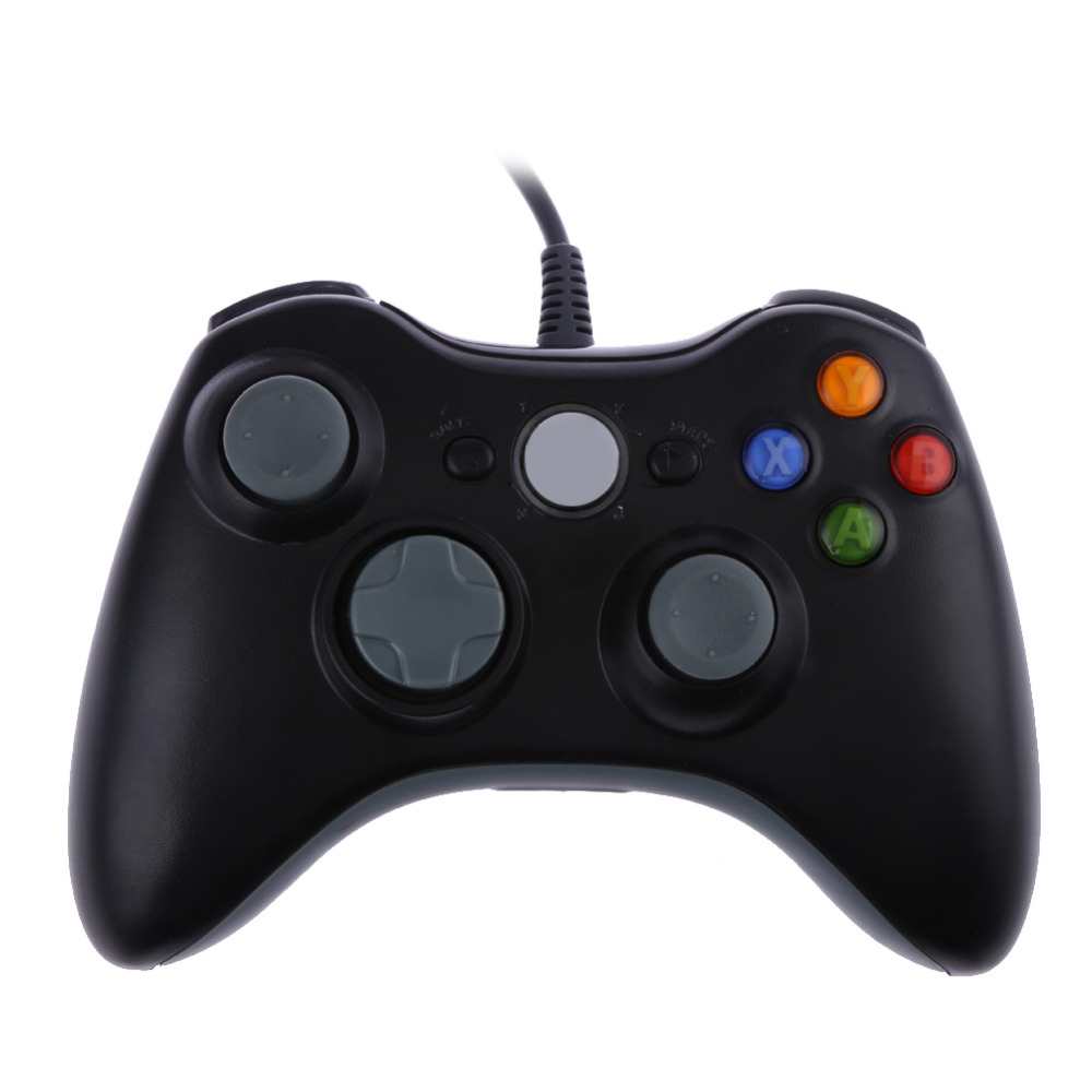 Kontrol Gamepad Joypad Kabel USB Gamepad Joypad Kabel untuk Sistem Game Xbox 360 untuk Windows7 Joyst Game Gaming Controller