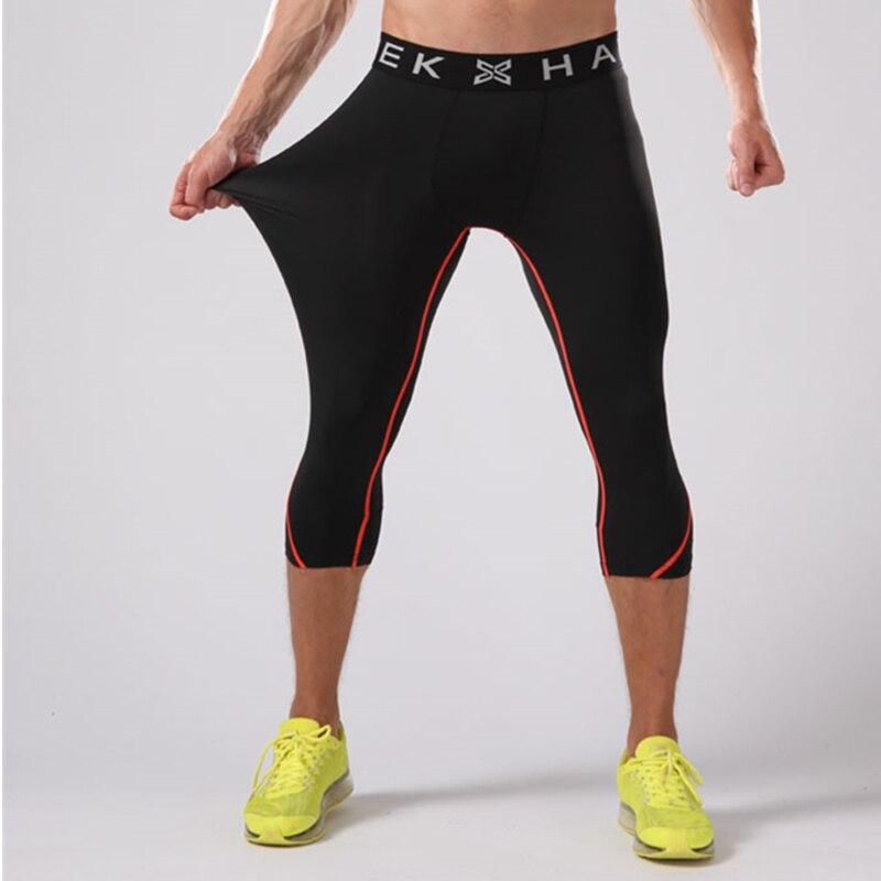 New Elastis Kompresi Menjalankan Celana Pria 3 4 Basket Legging Celana Olahraga Jogging Gym Tights Kebugaran Yoga Menjalankan Celana Xl Pants Men Pants Bagpant Rack Aliexpress