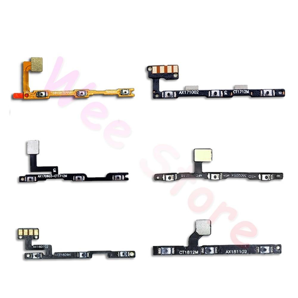 Volume On Off Button Key Power Flex Cable For Xiaomi Mi Note Max Mix 1 2 2s 3 Pro A2 A1 Lite Power Flex