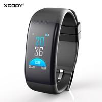 XGODY DB11 IP68 Waterproof Smart Bracelet Women Men Fitness Bracelet With Blood Pressure Measurement Smart Wristband For Phone