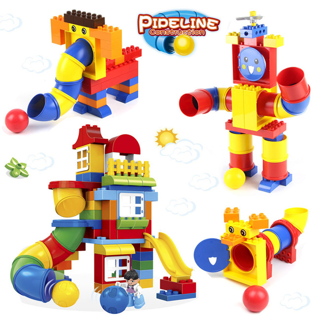 Wange Compatible Legoed Large Particles Assembled 2 Years Old 3 Boys