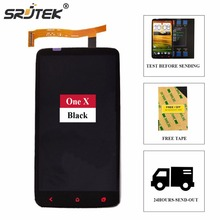 Srjtek screen For HTC One X Plus x+ S728e LCD Display + Touch Screen digitizer 1280X720 4.7inch Assembly + 3M Tape