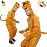 QLQ Men's Dog Jumpsuit Costume High Quality Cute And Amusing Funny Party For Adults Role Play Cute Dog Costumes