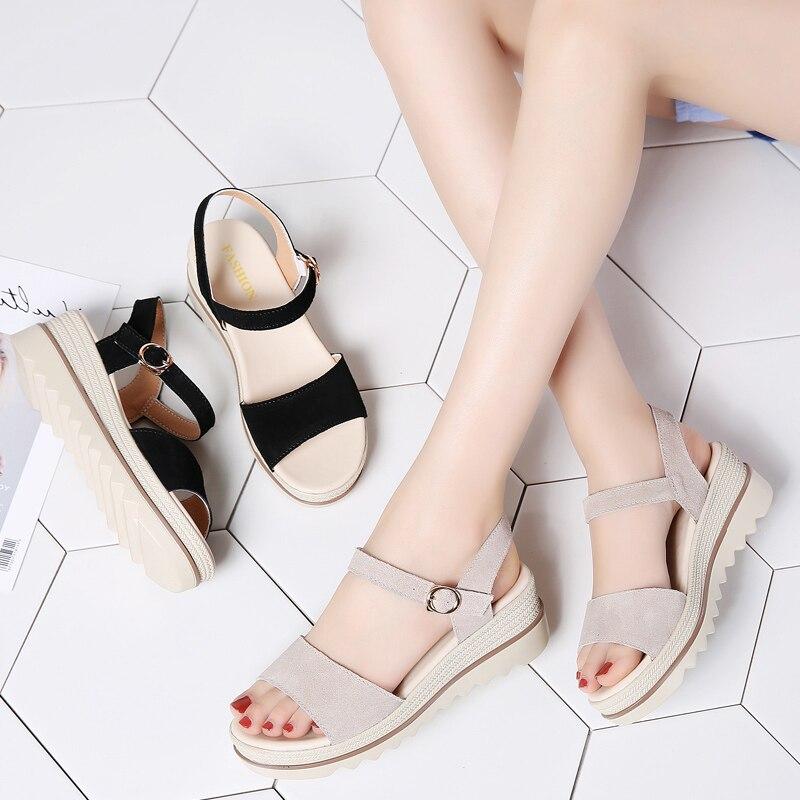 Women Platform Sandals Wedges Shoes