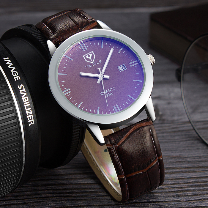 Yazole Mens Watches Top Brand Luxury Quartz Watch Men Wristwatches Male Clock Wrist Watch Quartz-watch Relogio Masculino YZL298N yazole new watch men top brand luxury famous male clock wrist watches waterproof small seconds quartz watch relogio masculino