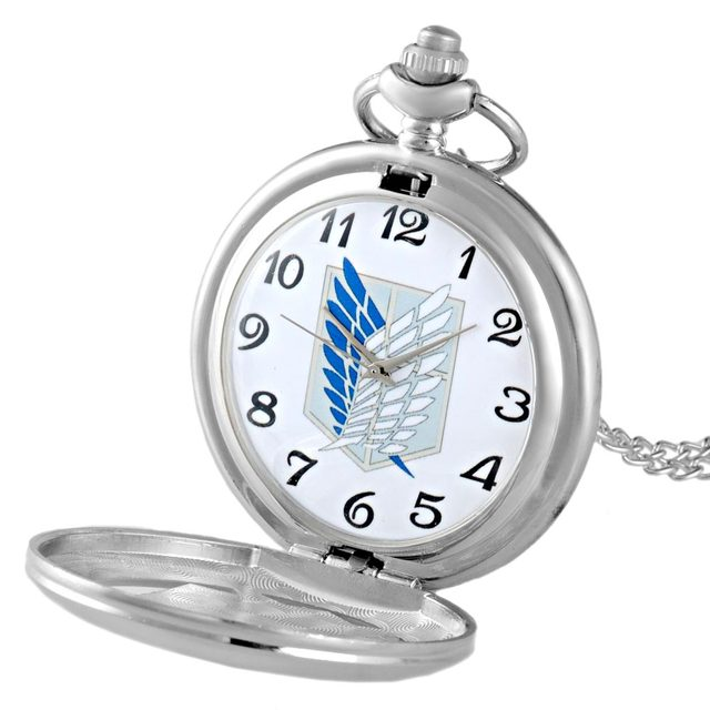 Attack On Titan Retro Pocket Quartz Watch