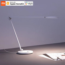 Xiaomi Mijia โคมไฟตั้งโต๊ะ LED Pro สมาร์ท Eye Protection โคมไฟตั้งโต๊ะ Dimming อ่านหนังสือทำงาน HomeKit ของ Apple อ่านหนังสือ