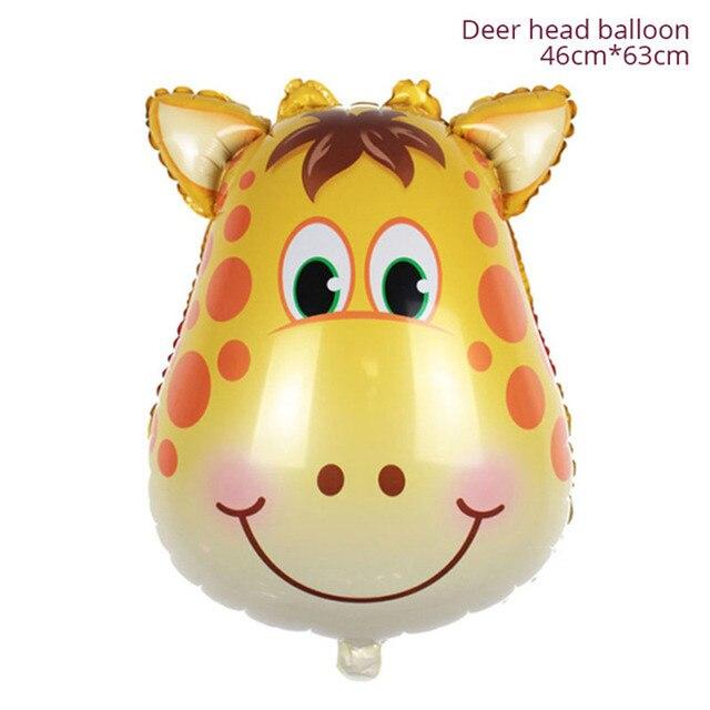 Deer Monkey 1st birthday decorations 5c64f9ae5e140