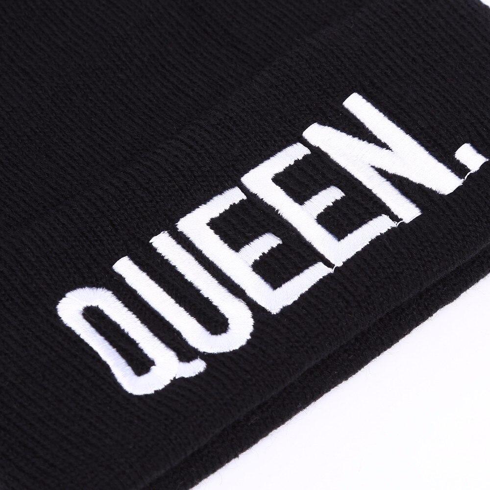 King Queen invierno sombreros pareja Bonnet Venta de hip hop para ...