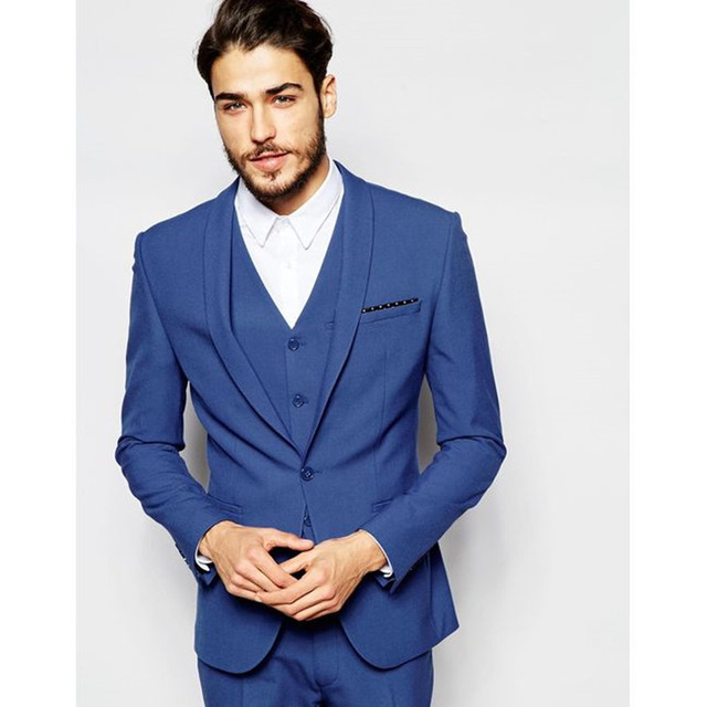 Wedding Groom Blue Suit | Wedding Ideas