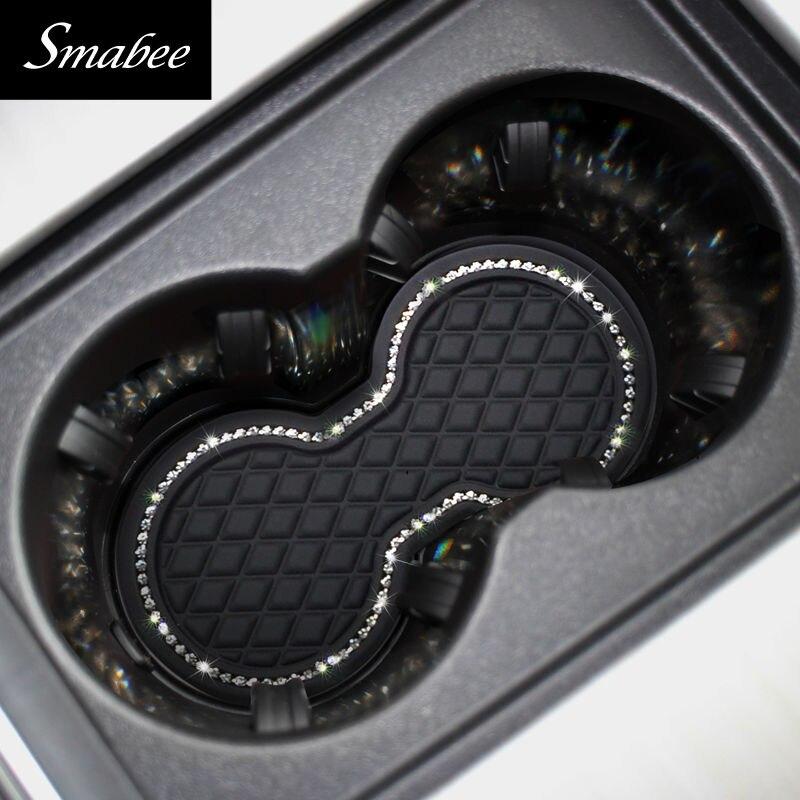 Smabee car Door groove mat para 2011-2015 jaguar xf Posavasos - Accesorios de interior de coche - foto 5