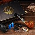 E Cigar Sets  Electronic Cigarette Sets 900mah Battery Brown E Cigarettes Kits With Rechangeable Coil E-Pipe 618 Kit X9011