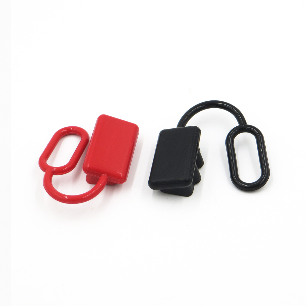 Anti Dust Cap Cover end SH50 plug connector 50amp dual pole battery 50A 600V Rubber Red or BlackAnti Dust Cap Cover end SH50 plug connector 50amp dual pole battery 50A 600V Rubber Red or Black