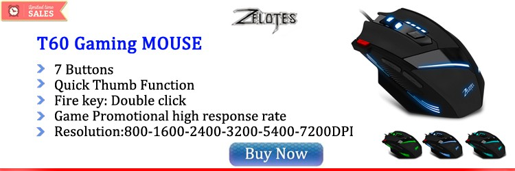 zelotes T60 gaming mouse