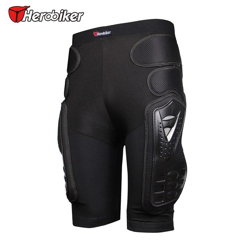 HEROBIKER motocicleta Armor pantalones pierna protección motocross Racing Riding equipo Gear motocross protector gear negro